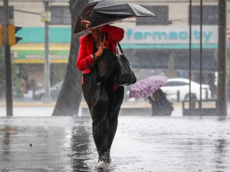 ¡No olvides el paraguas! se esperan fuertes lluvias