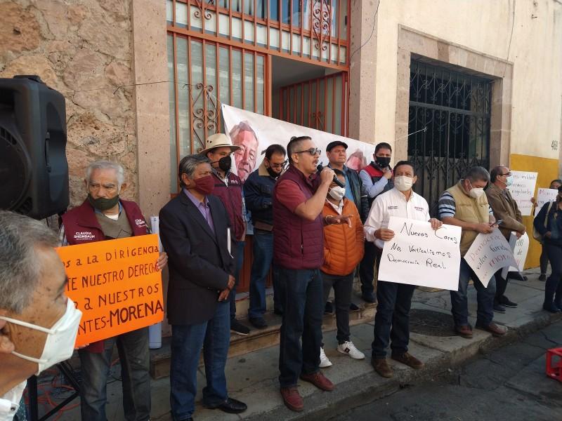No permitiremos imposición de candidatos, advierten militantes de Morena -  MEGANOTICIAS