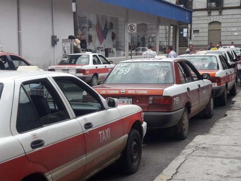 No sirvió reordenamiento vial: taxistas