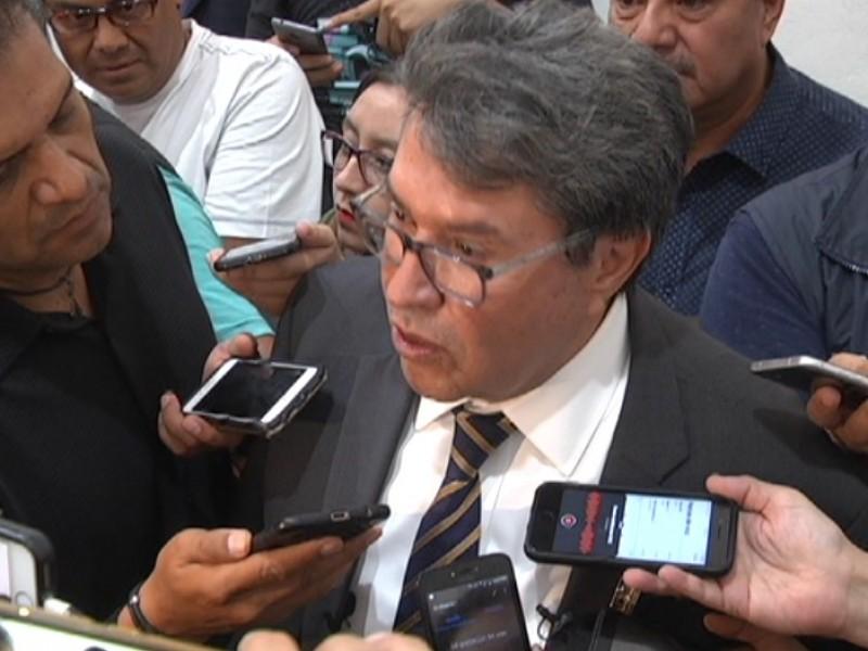 No somos ambiciosos vulgares: Ricardo Monreal