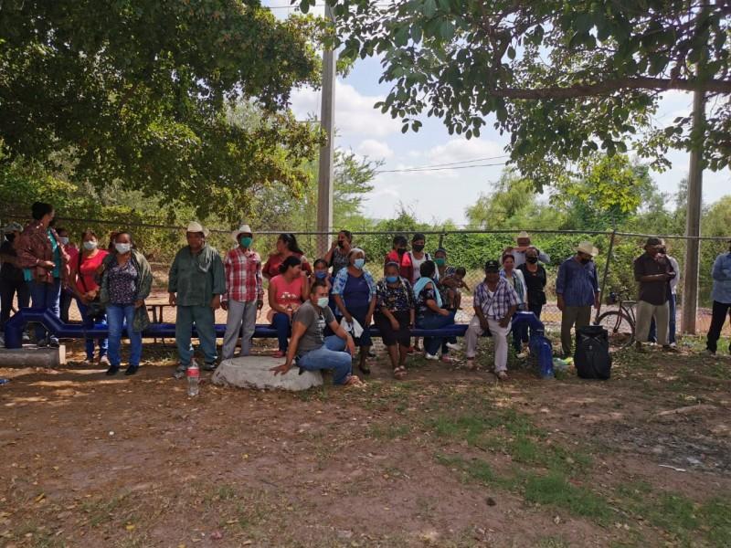 ¡No soportamos más sin agua!demandan comunidades de San Miguel