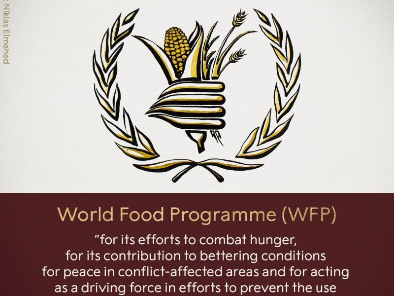 Nobel de la Paz 2020 para Programa Mundial de Alimentos