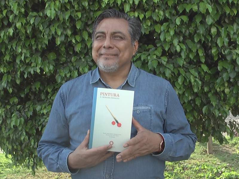 Noé Mijangos, istmeño que participa en obra literaria del INACIPE