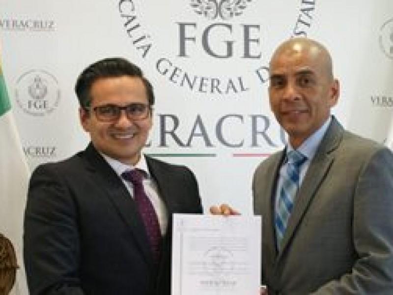 Nombran a Marcos Even Fiscal Anticorrupción en Veracruz