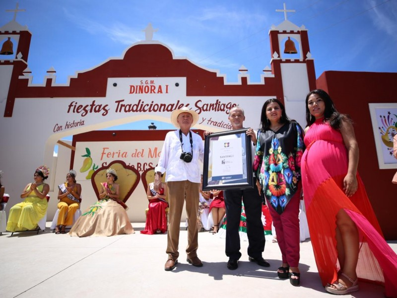 Nombran a Santiago *Pueblo Histórico