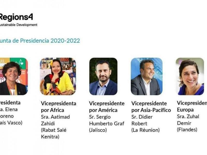 Nombran a Sergio Graf vicepresidente por América en Regions4