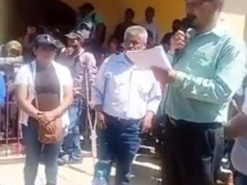 Nombran Concejo Municipal en Altamirano, ex alcalde sigue retenido