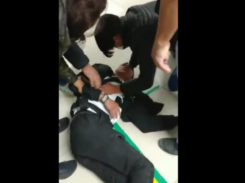 Noquean a guardia de seguridad de un hospital de Tlaxcala