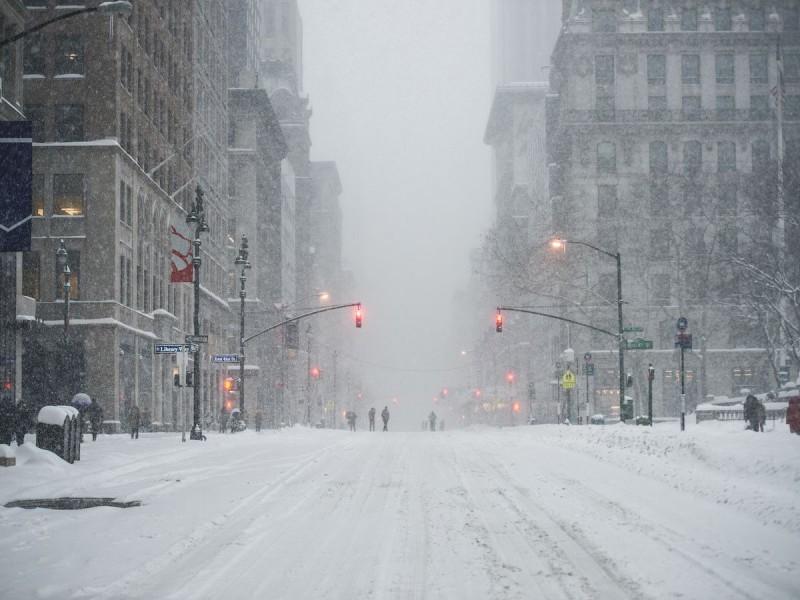 Noreste de Estados Unidos afectado por tormenta invernal