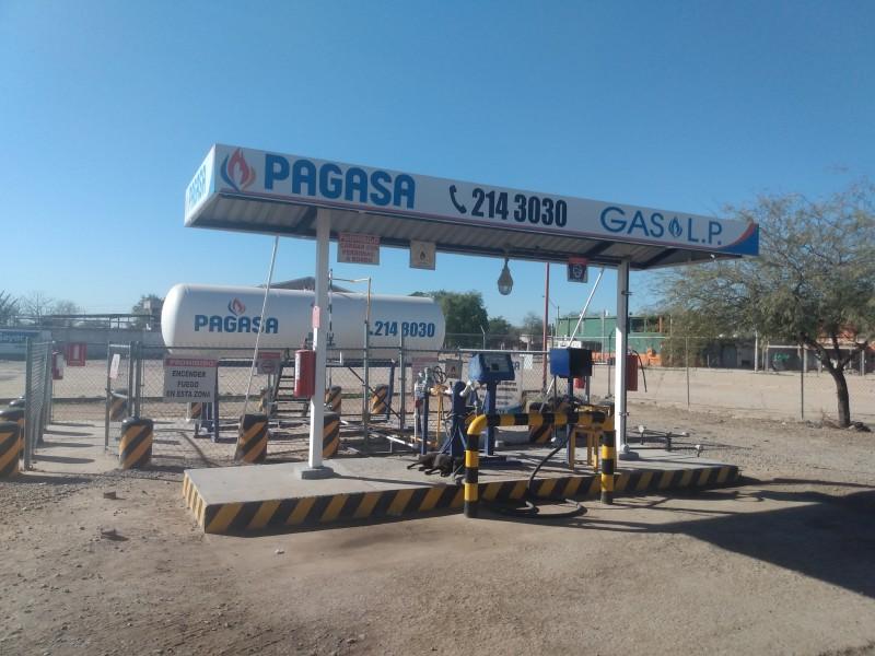 Venden gas LP con normalidad en Hermosillo