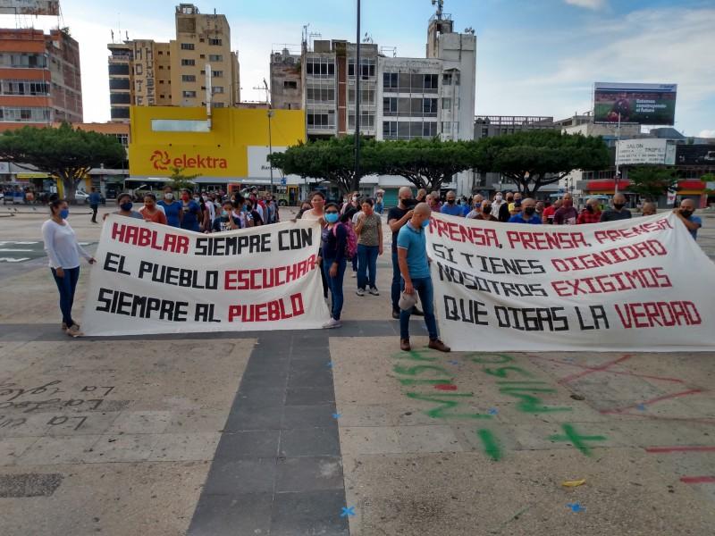 Normalistas cancelan marcha, para no caer en provocaciones con autoridades