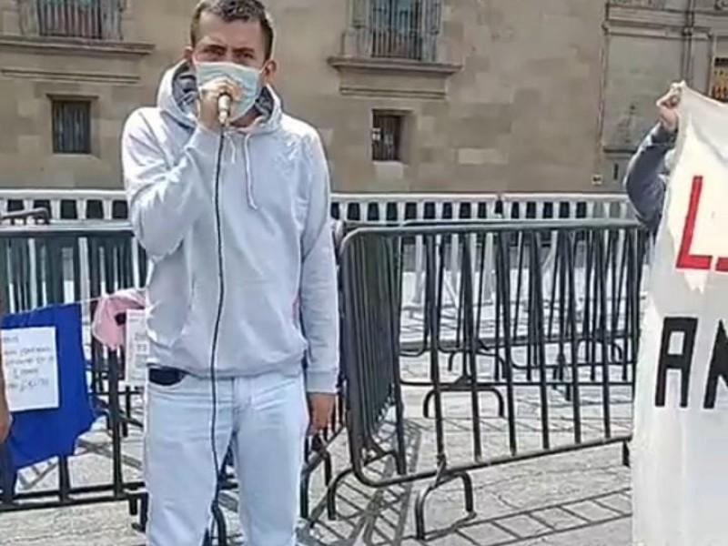 Normalistas continúan protestas en CDMX, siguen vinculados a proceso