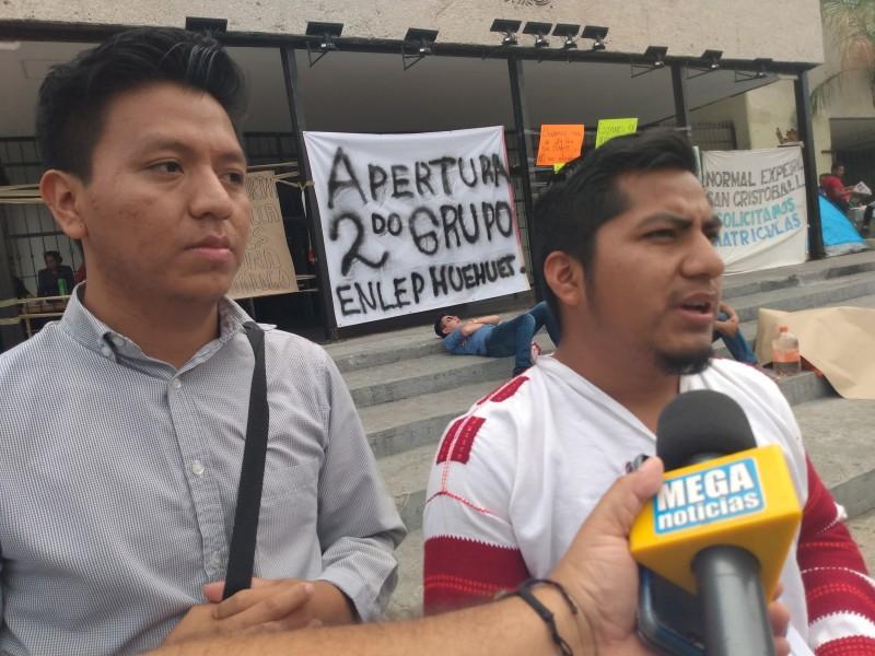 Normalistas de Jacinto Canek radicalizaran acciones