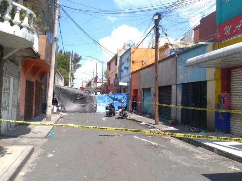Nueva balacera en Tepito deja 1 muerto