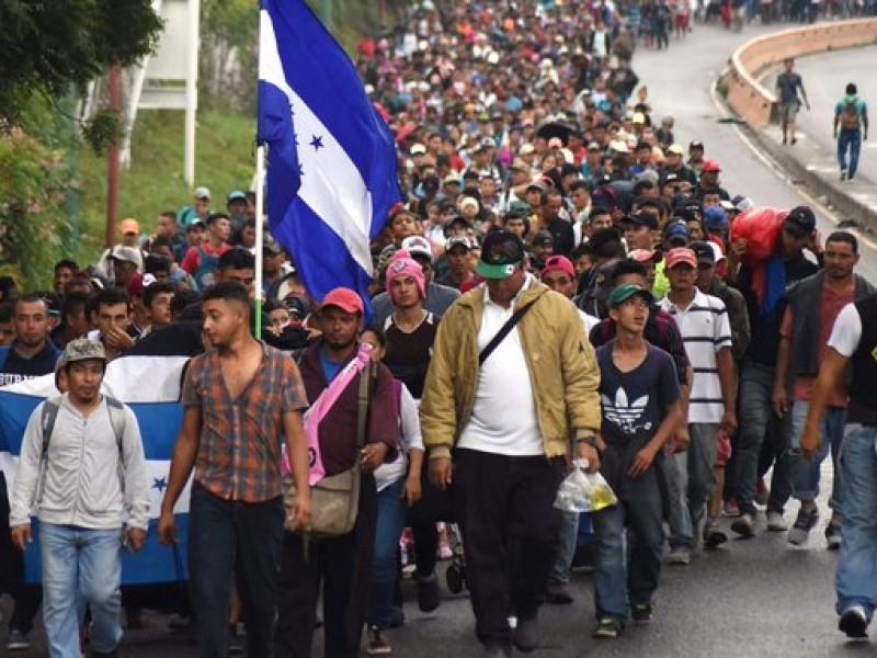 Nueva caravana de migrantes de Honduras hacia EU