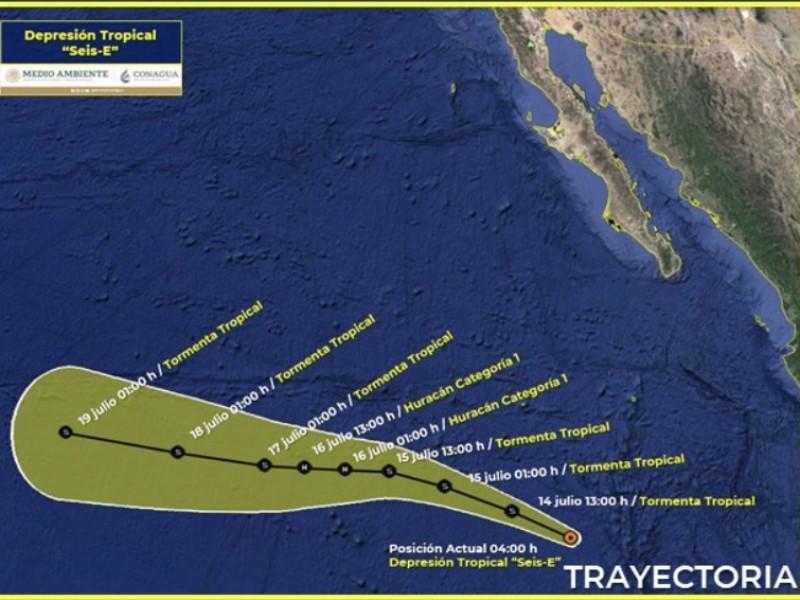 Nueva depresión tropical se forma en el Pacífico: SMN
