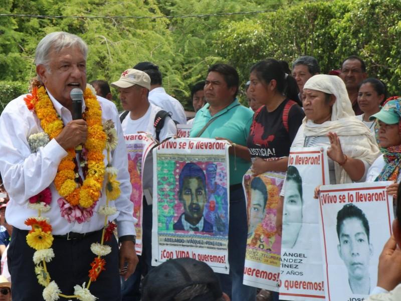Nueva esperanza para padres de Ayotzinapa