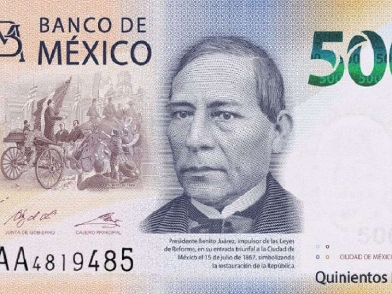 Nueva familia de billetes se pone en circulación