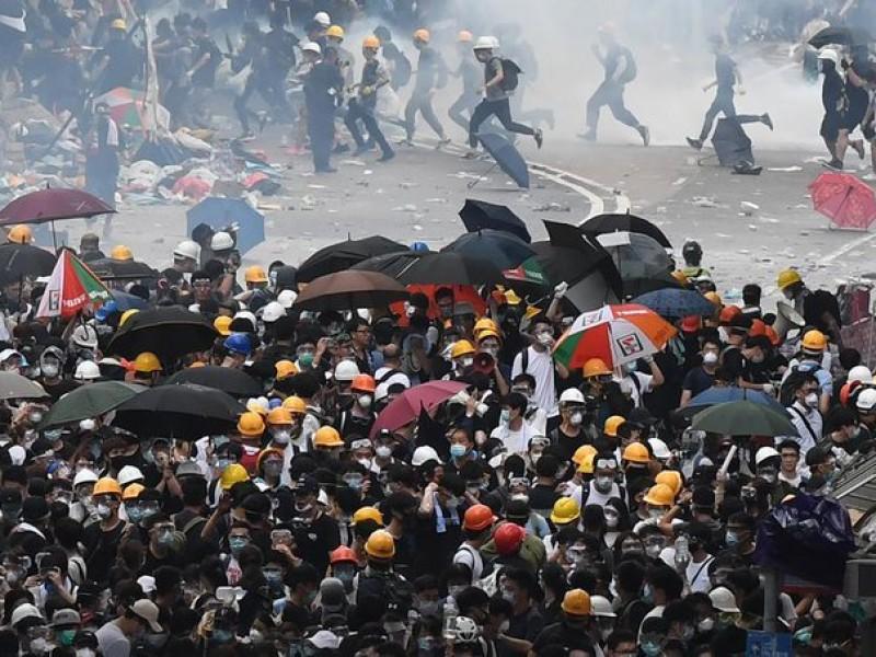 Nueva protesta en Hong Kong
