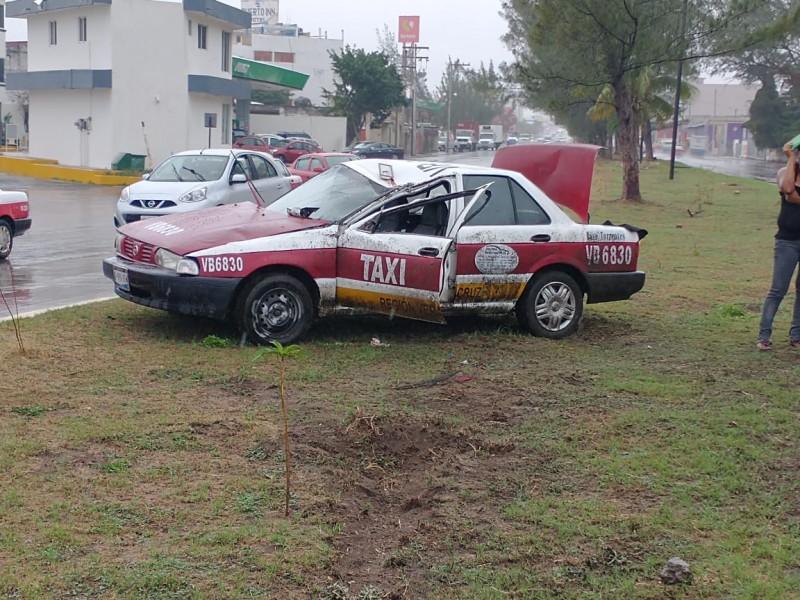 Nuevamente se registra un accidente en el bulevar Fidel Velázquez