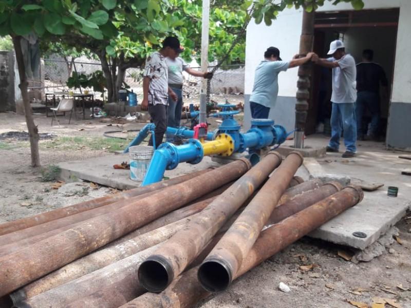 Nuevamente sin agua potable en la Octava Sección de Juchitán