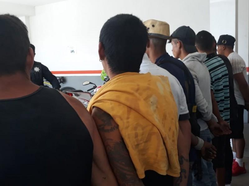 Nueve detenidos por robo millonario de atún