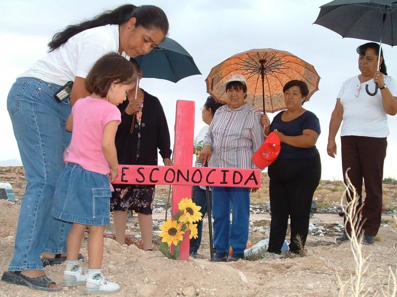 Nueve mujeres asesinadas al día en México, ONU