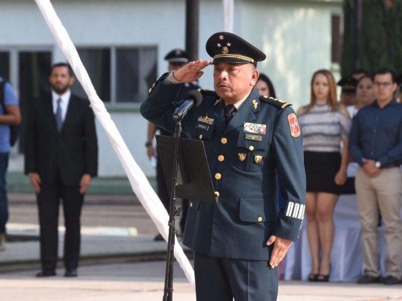 Nuevo comandante de la XVII Zona Militar