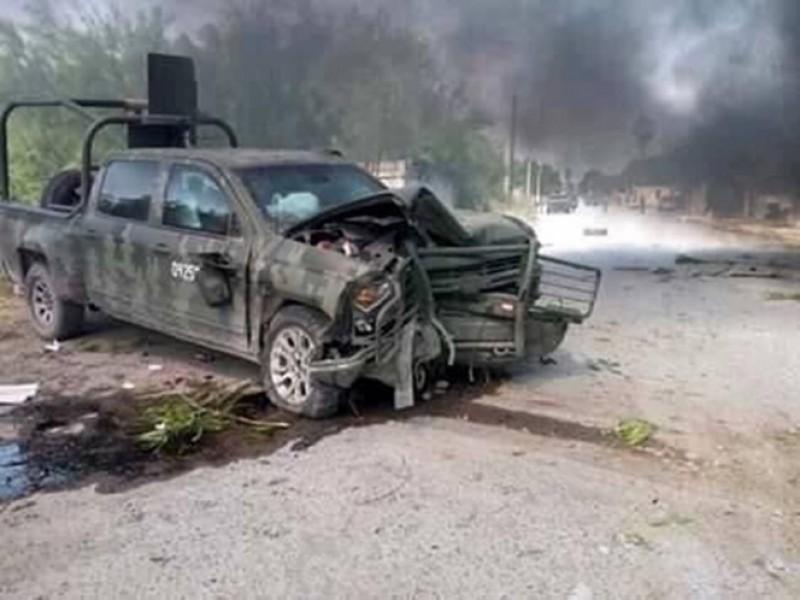 Nuevo enfrentamiento en Tamaulipas entre militares y civiles