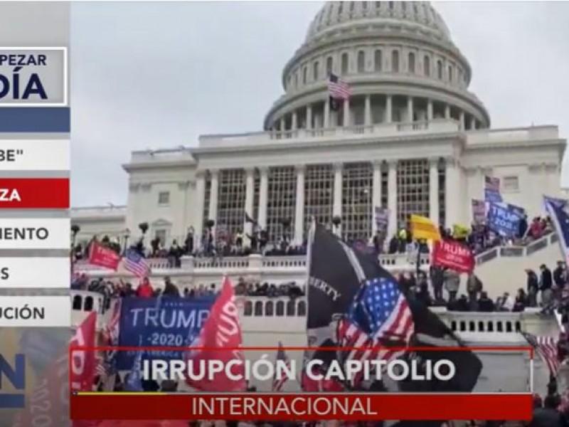 Nuevo intento de asalto al Capitolio sería este jueves
