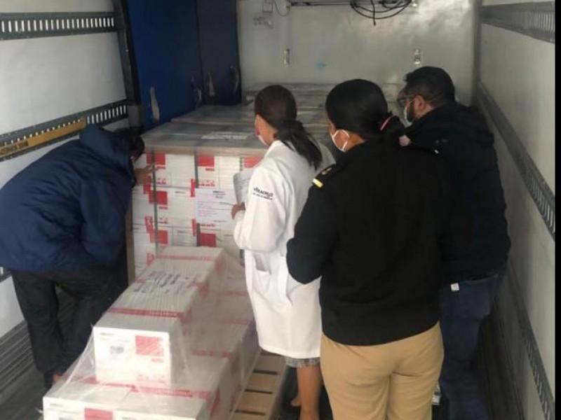 Nuevo lote de vacunas arriba a territorio veracruzano