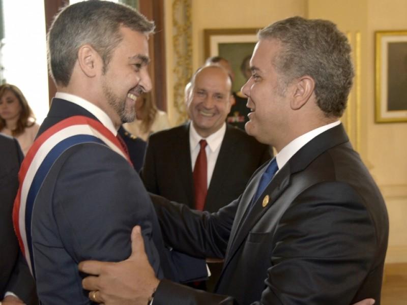 Nuevo Presidente Paraguayo celebra primeras reuniones bilaterales