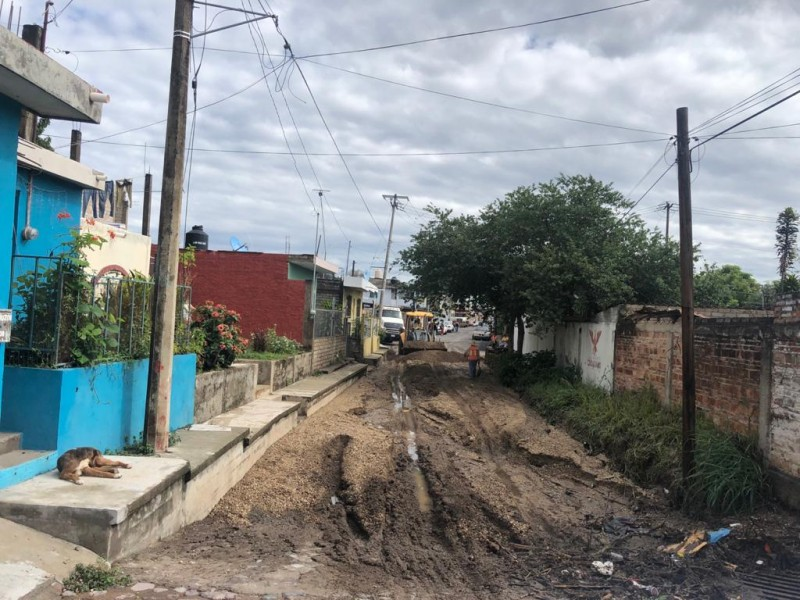 Nuevo Progreso y La Cruz; principales afectadas por escurrimientos pluviales