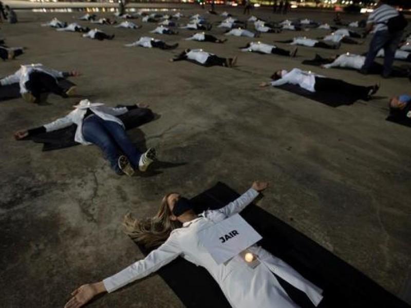 Nuevo récord, Brasil reporta más 3 mil nuevas muertes Covid-19