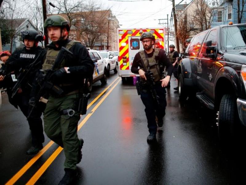 Nuevo tiroteo en EE.UU, ahora en Jersey City