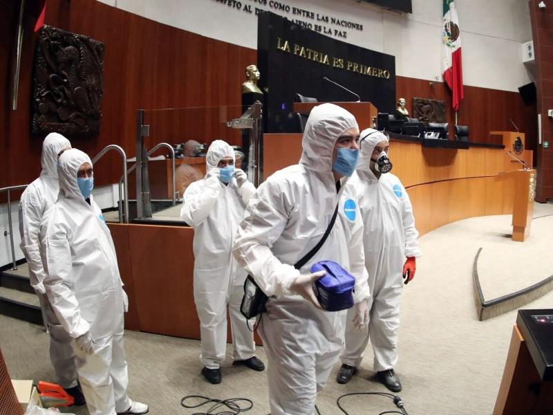 Se desatan los contagios de COVID-19 en el Senado