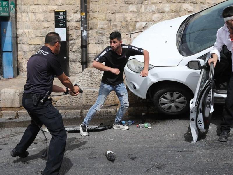 Nuevos choques entre palestinos e israelíes