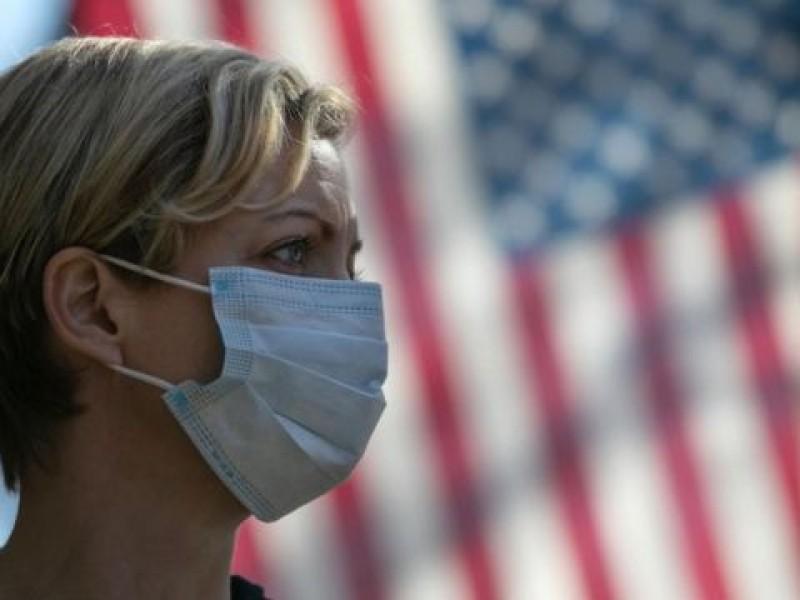 Nuevos contagios Covid-19 estadounidense se concentran en cinco estados