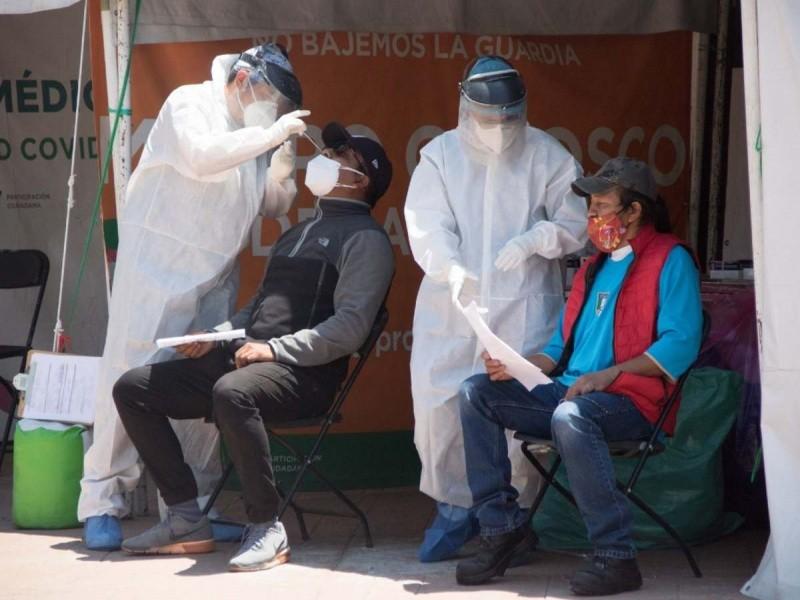 Nuevos contagios de Covid-19 en Morelos