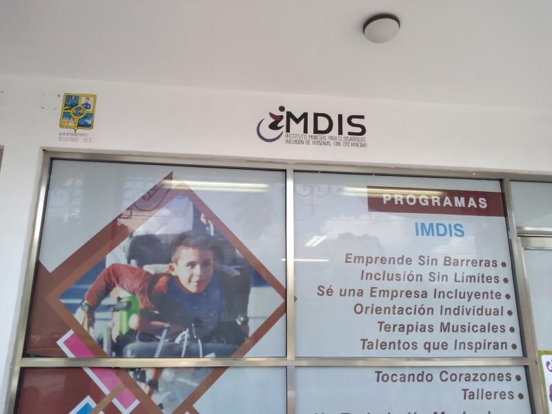 Nuevos progrsms implementara instituto para la discapacidad