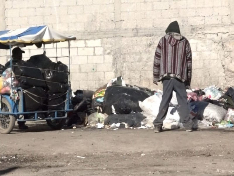 Nula recolección de basura una problemática en Amozoc