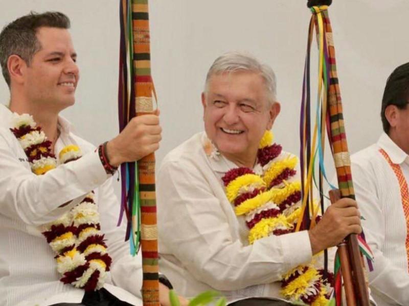 Oaxaca cierra filas con AMLO por la paz