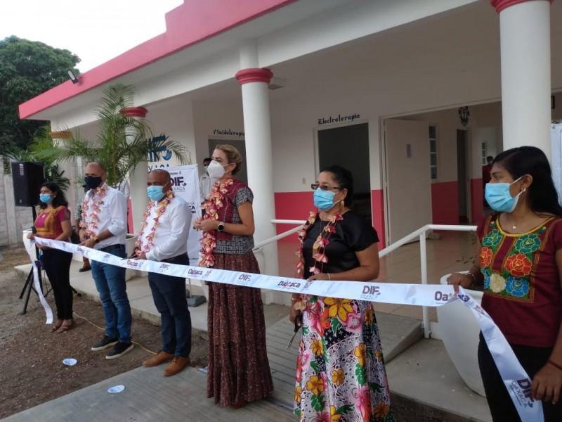 Oaxaca cuenta con 14 nuevas Unidades Básicas de Rehabilitación