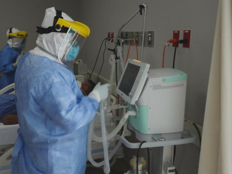 Oaxaca destaca a nivel país por ocupación hospitalaria