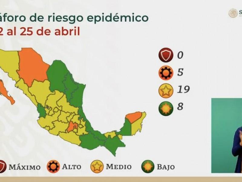 Oaxaca pasa a semáforo verde este lunes