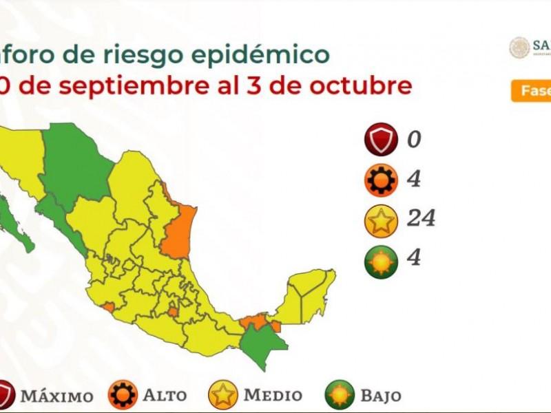 Oaxaca permanecerá dos semanas más en semáforo amarillo