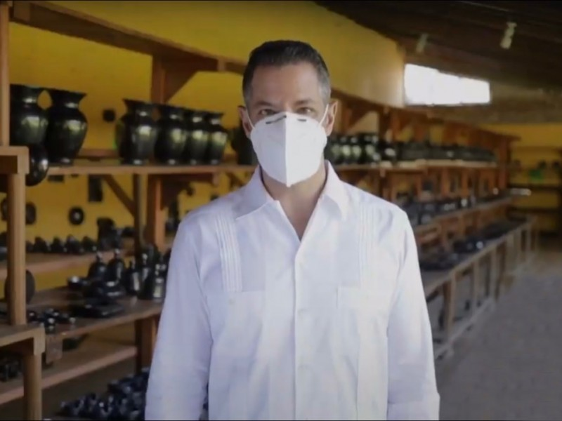Oaxaca regresa a semáforo epidemiológico amarillo: Alejandro Murat