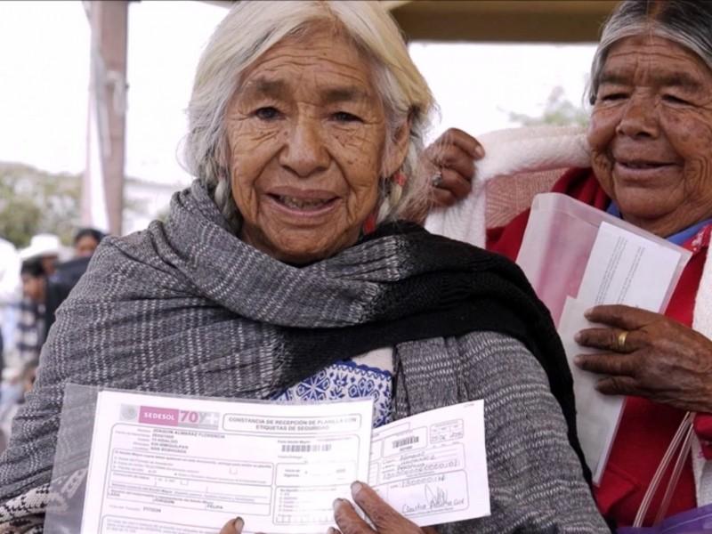 Oaxaca, tercer estado con más beneficiarios de adultos mayores