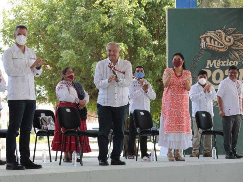 Oaxaca uno de los pueblos con mas cultura: AMLO