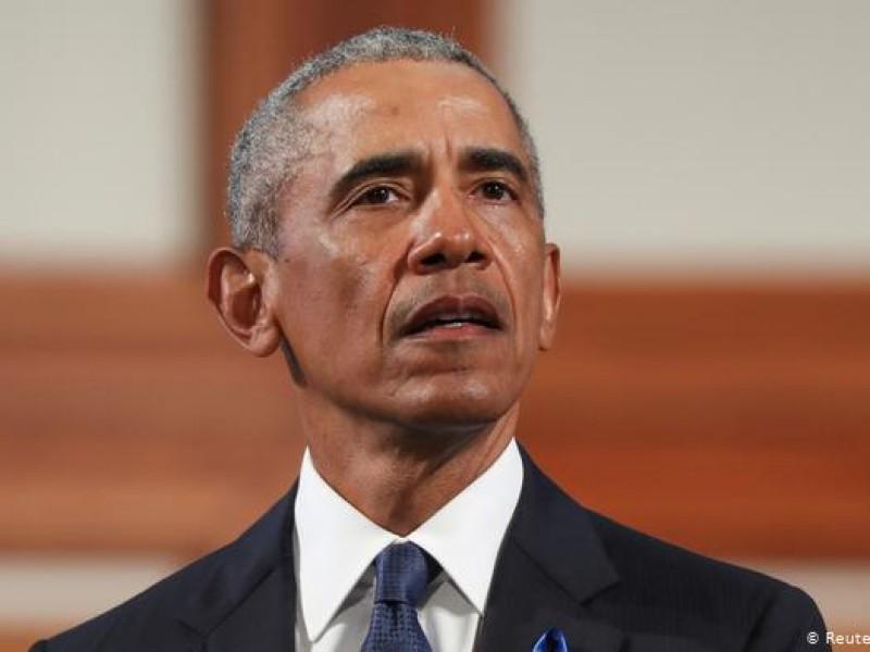 Obama descarta asumir cargo en gobierno de Biden